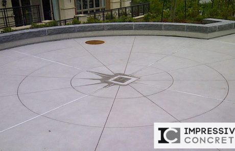 Impressive Concrete - Concrete Patios Portfolio - 009 - Regular Concrete, Smooth Finish Patio