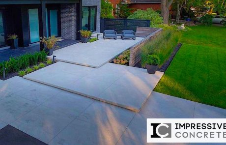 Impressive Concrete - Concrete Walkways Portfolio - 001 - Regular Concrete, Smooth Finishes Walkway