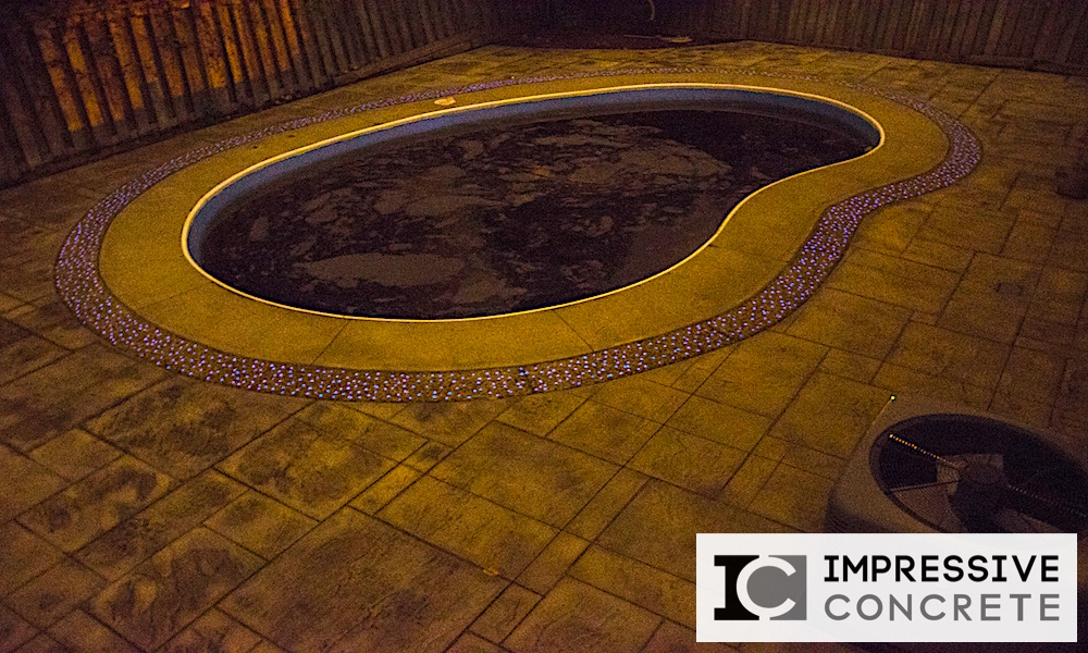 Impressive Concrete - Impressive GlowCrete - 002 - Concrete Pool Decks